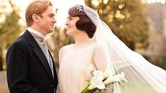 Mary's was nothing but elegant and graceful in her traditional long-sleeved wedding dress and complementing veil. Source: ITV