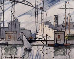 Louis Mathieu Verdilhan   1875-1928, France   Marseille, ca.1910