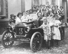 Primer vehículo marca Ford que llego a San Cristobal - Edo Tachira - Venezuela