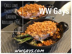 We love crispy coated chicken so why not be creative with WW snacks? Weight Watchers Diet, Chicken Spices, Chili Lime, Roasted Red Peppers, Asparagus, Green Beans, Spinach, Beef, Stuffed Peppers