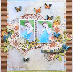 Carefree+Holidays+{Sizzix+DT} - Graphic 45 - By the Sea Collection Gerry van Gent