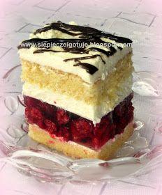 Baking Recipes, Cake Recipes, French Silk Pie, Good Food, Yummy Food, Raspberry Cake, Polish Recipes, Mini Cakes, Food And Drink