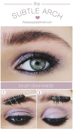 This is the sneakiest quick trick ever to give your brows a little definition! Click through to see it!