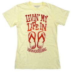 9de17cf0e Livin  my life in flip flops Graphic Tee Shirts