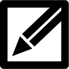 Image result for pencil edit icon