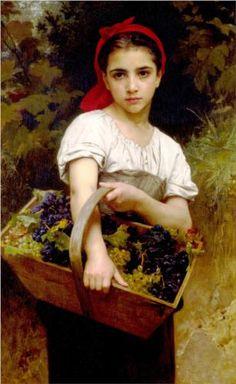 Harvester - William-Adolphe Bouguereau...1875