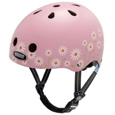 Casque enfant Nutcase Little Nutty Daisy Pink