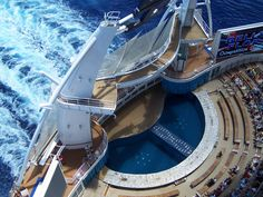 Oasis of the Seas AquaTheater.  Website: http://patelcruises.com/  Email: patelcruises.com@gmail.com