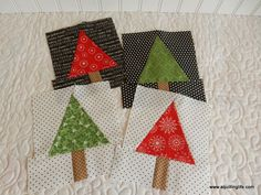 Christmas Tree Quilt Blocks   A Quilting Life - a quilt blog
