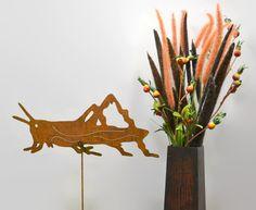 Grasshopper Metal Yard Stake GS86 - Oregardenworks Home and Garden