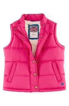 Mini Boden Quilted Vest (Toddler Girls, Little Girls & Big Girls) available at #Nordstrom