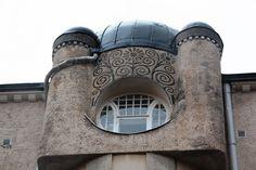 Finnish Art Nouveau architecture...