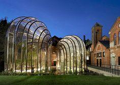 Proyecto de arquitectura: invernadero para la destilería Bombay Sapphire