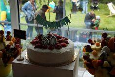 Strawberry - Coconut cake