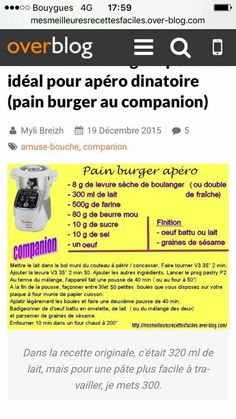 Pain burger apero Brioche Companion, Pain Burger, Pains, Buffet, Cooking Recipes, Catering Display, Lunch Buffet