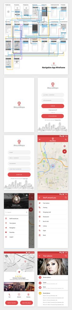 I created this app with an idea which can give you best location for your needs without typing in search box. Just a click and you can find out a best result. I mean i give you a list of your needs ,just choose one of them and go! Android Design, App Ui Design, User Interface Design, Flat Design, Apps Android, App Wireframe, Mobile Web Design, App Design Inspiration, Ui Web