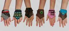 Wrist Purse - perfect for festivals, dancing... You can carry some money in them :)
