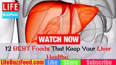 #NaturalCures #DIY 12 BEST Foods That Keep Your Liver Healthy   HOW to Detox Liver Naturally at Home… #HealthTips #hepati #HealthyEatingTips