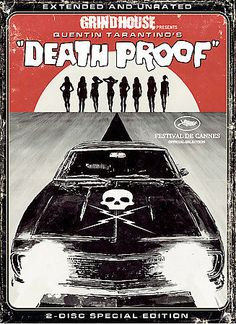 Death Proof (DVD, 2007, 2-Disc Set, Widescreen; Extended Director's Cut)