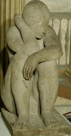 Marino Marini, Bagnante, 1934 Galleria d'Arte Moderna, Rome, Italy