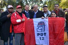 Estive na Convenção do PDT em São Borja