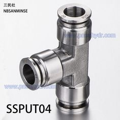 SSPUT04 ,  Stainless Steel Fitting , Pneumatic Pipe Fitting ,  Pipe Connect ,Tube Connector , pneumatic fitting,air fitting,plastic fitting,tube fitting , Nylon Pipe Exhaust Joint Air Fitting , Quick Connector ,pu tube fitting ,