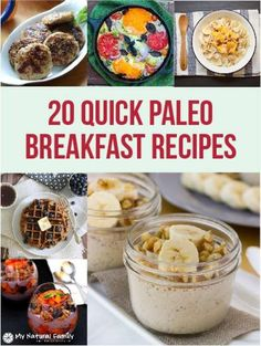 20 Quick Paleo Breakfast Ideas