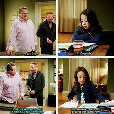 "There are no awkward confrontations about ~feelings~ with Lily. | 19 Reasons Lily From ""Modern Family"" Would Be The Best Friend Ever"