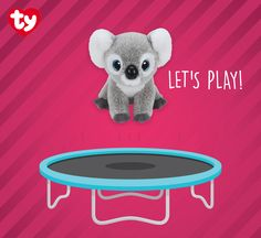 Kookoo the koala is koalafied to play with you all night and day! Find her in stores today!