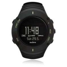Suunto Women Core Crush Digital Outdoor Watch (575 AUD) ❤ liked on Polyvore featuring jewelry, watches, black, digital wristwatch, digital watches, suunto watches, water resistant watches and black wrist watch