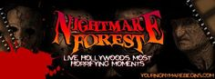 Nightmare Forrest Haunt Park | Brandenburg Kentucky | Haunted Travels USA This attraction offers four horrifying experiences for one price. You will get the original and your favorite Nightmare Forest trail where you will Live Hollywood's Most Horrifying Moments at their Legendary Nightmare Forest