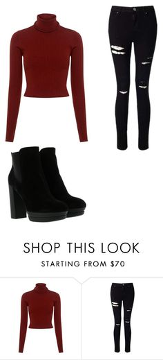 """""""Sin título #7"""" by agus14 ❤ liked on Polyvore featuring A.L.C., Miss Selfridge and Hogan"""