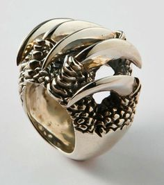 claw shell ring