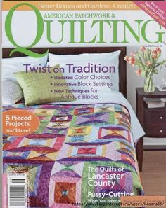 American Patchwork & Quilting no 86  6/2007