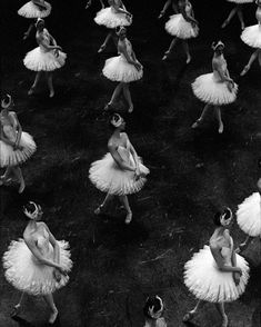 Paris Opera corps de ballet in Nureyev's Swan Lake  Photo © Ann Ray