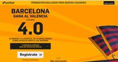el forero jrvm y todos los bonos de deportes: betfair Barcelona gana Valencia cuota 4 Copa 3 feb...