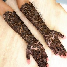 New Bridal Mehndi Designs 2019 – Top Mehandi Design Trends For The Year – Gorgeously Flawed Full Mehndi Designs, Arabic Bridal Mehndi Designs, Engagement Mehndi Designs, Indian Henna Designs, Mehandhi Designs, Mehndi Designs For Girls, Mehndi Designs For Beginners, Dulhan Mehndi Designs, Mehndi Designs For Fingers
