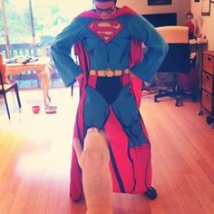 When he took his love of Superman to the next level. | Community Post: 15 Times Grant Gustin Was Just Too Damn Cool