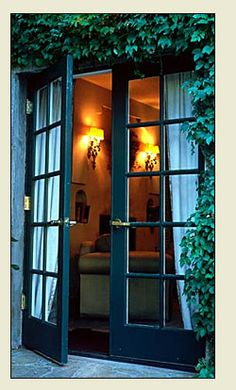 Thinking about painting my front French doors black.