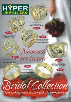 Company Brochure Hyper Jewellers Company Brochure, Wedding Rings, Graphic Design, Jewels, Engagement Rings, Diamond, Superman, Gold, Advertising