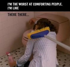 Comforting people