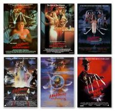 A Nightmare on Elm Street 1-6