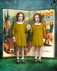 Beth Conklin - Mixed Media & Digital Art - If you ever find yourself in the wrong story, leave.