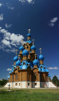 Transfiguration Church in Star City, Russia                                                                                                                                                                                 More