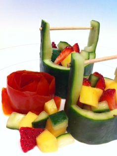 ALWAYS ONO - Happy Mom Cooking: Cucumber Buckets