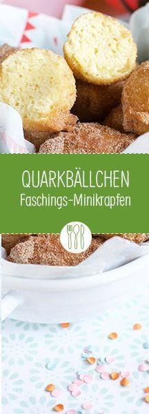 Quarkbällchen selbermachen: Blitzrezept für Mini-Berliner www.diehauswirtschafterei.de