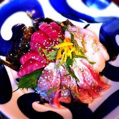 父がさばいてくれた魚介で海鮮丼✨  朝から贅沢気分(笑) - 32件のもぐもぐ - 海鮮丼  by welcomeizumi
