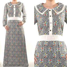 SALE Free Shipping Cotton Islamic Abaya Long Sleeves by MissMode21, $22.00