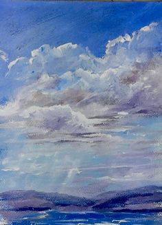 Back to Basic Clouds, was the LIVE lesson Tuesday evening on YouTube and will be in our video lesson library for members Dec 30. www.gingercooklive.gallery