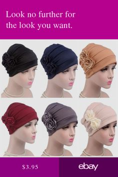 4957fd3ca6c Women Indian Turban Hat Bandana Hairband Chemo Head Wrap Scarf Hijab Cap  Muslim